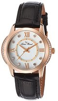 Lucien Piccard Women's LP-40001-RG-02S Dalida Analog Display Quartz Black Watch