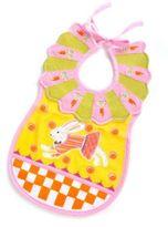 Mackenzie Childs MacKenzie-Childs Toddler's Bib - Bunny