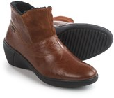 Romika Savona 01 Wedge Ankle Booties - Leather (For Women)