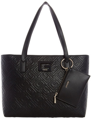 GUESS QG773824BLA Janay Double Handle Tote Bag