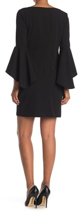 Jessica Howard Bell Sleeve Shift Dress