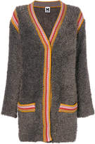 M Missoni striped trim cardigan