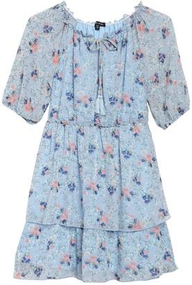 Max & Ash Double Tier Floral Dress