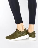 Nike Roshe Premium Sneakers In Khaki