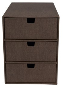 Bigso Box of Sweden Ingrid 3 Drawer Supply Chest