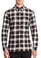 Burberry Lewisham Plaid Shirt