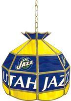 "Utah Jazz 16"" Tiffany-Style Lamp"