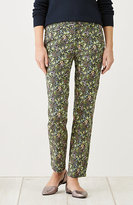 J. Jill Live-In Chino Print Ankle Pants