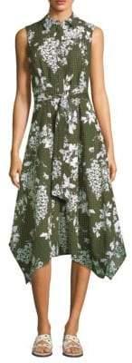 Lafayette 148 New York Moxie Floral Print Dress