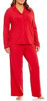Cabernet Plus Picot-Stitched Pajamas