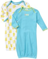 Gerber 2 Pack Lap Gown - Ducks (Baby) - Yellow-0-6 Months
