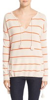 Autumn Cashmere Women's Baja Stripe Cashmere Sweater