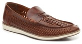 Four Brothers Woven Penny Loafer