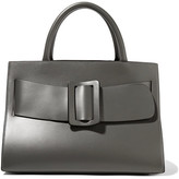 Boyy Bobby Large Buckled Leather Tote - Charcoal
