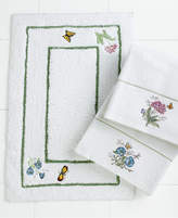 Lenox Bath Accessories, Butterfly Meadow Bath Rug Bedding