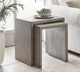 Pottery Barn Byron Waterfall Nesting End Tables
