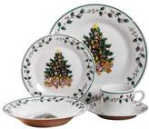 The Holiday Aisle Tree 20 Piece Dinnerware Set, Service for 4