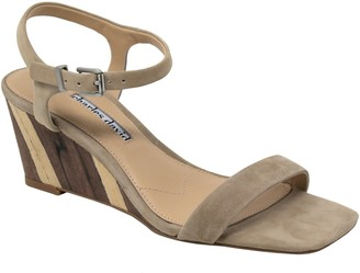 Charles by Charles David Charles David Leather Adjustable Wedge Sandals- Transform