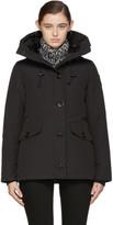 Canada Goose Black Down Black Label Rideau Coat