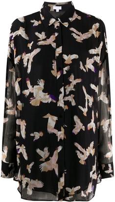 Lala Berlin Falcon Print Buttoned Shirt