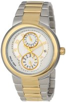 """Philip Stein Teslar Women's 31TG-AGW-TGSS """"Active"""" Gold-Plated Two-Tone Watch"""