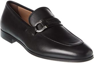 Salvatore Ferragamo Sidney Gancini Leather Loafer