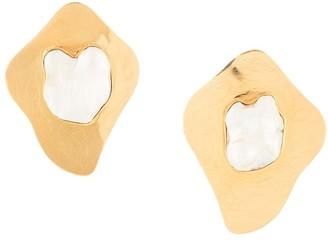 LIYA Pearl-Embellished Earrings