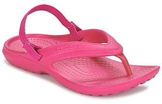 Crocs CLASSIC FLIP K girls's Flip flops / Sandals in Pink