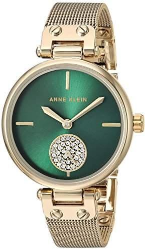 Anne Klein Women's Quartz Metal and Stainless Steel Dress Watch