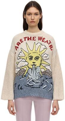 Stella McCartney Oversize Sun Cotton & Linen Sweater
