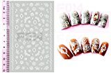 EmcoDea 3D Gel nail stickers attached in 3 seconds Classic Collection Manicure Nail Polish Strips Nail Wraps Nail stickers