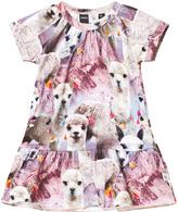 Molo Lovely Lhama Short Sleeve Cibbe Dress