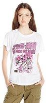 Marvel Juniors Spiderman Short Sleeve High Low Drapey Graphic Tee