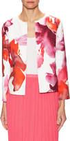 Carolina Herrera Women's Floral Print Jacket