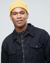 Levis Levi's Ribbed Beanie In Yellow