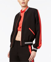 SHIFT Juniors' Colorblocked Bomber Jacket, Only at Macy's