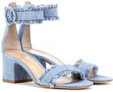 Gianvito Rossi Portofino denim sandals