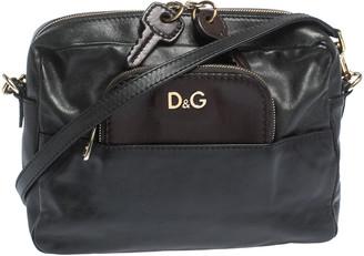 Dolce & Gabbana Black/Brown Leather Crossbody Bag