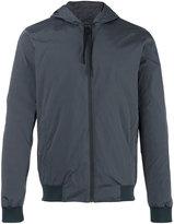 Fendi hooded jacket - men - Cotton/Polyamide - 46