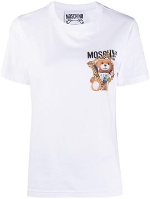 Moschino Frame Teddy Bear slim-fit T-shirt