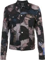 Christian Dior printed denim jacket