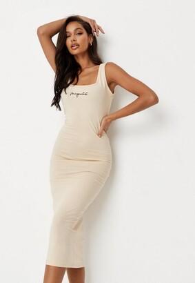 Missguided Cami Midi Dress