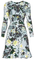 Erdem Judy Hydrangea-print neoprene-jersey dress