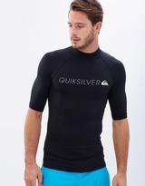 Quiksilver Mens Heater Short Sleeve Rash Vest