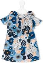 Chloé frilled floral dress