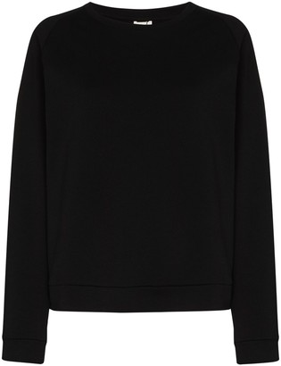 Base Range Cropped Crew Neck Sweatshirt