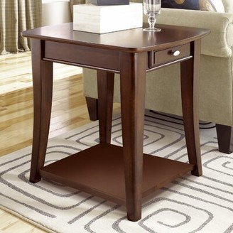 Darby Home Co Bray End Table with Storage Darby Home Co