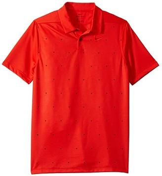 Nike Kids Dri-Fit Triangle Polo (Little Kids/Big Kids) (Black/Black) Boy's Clothing