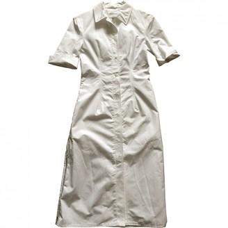 Barbara Casasola White Cotton Dress for Women