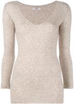 Liska - v-neck jumper - women - Cashmere/Silk - S